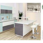 Коллекция фасадов и стеновых панелей для кухни REHAU