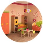 Мебель в детские сады и учебные заведения